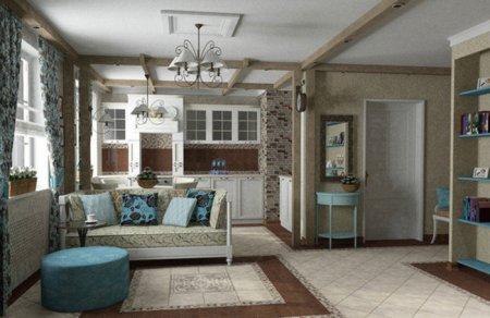 Интерьер дома во французском стиле