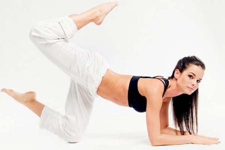 Фитнес дома для похудения ног