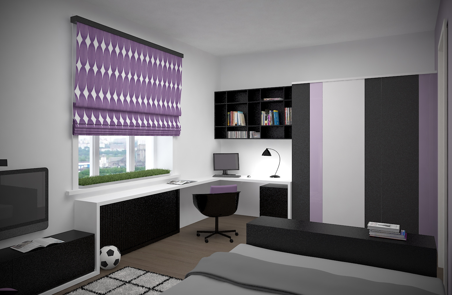Дизайна комнаты юноши 16