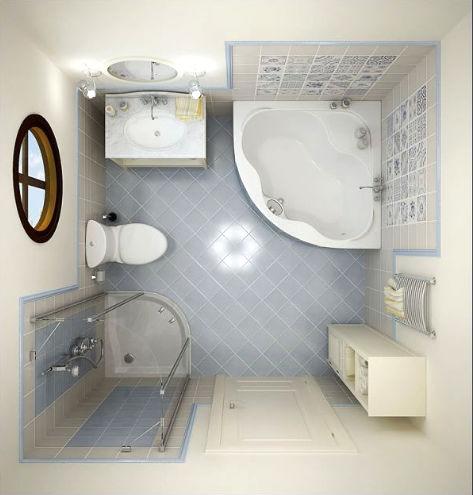 Дизайн очень маленькой ванной комнаты фото