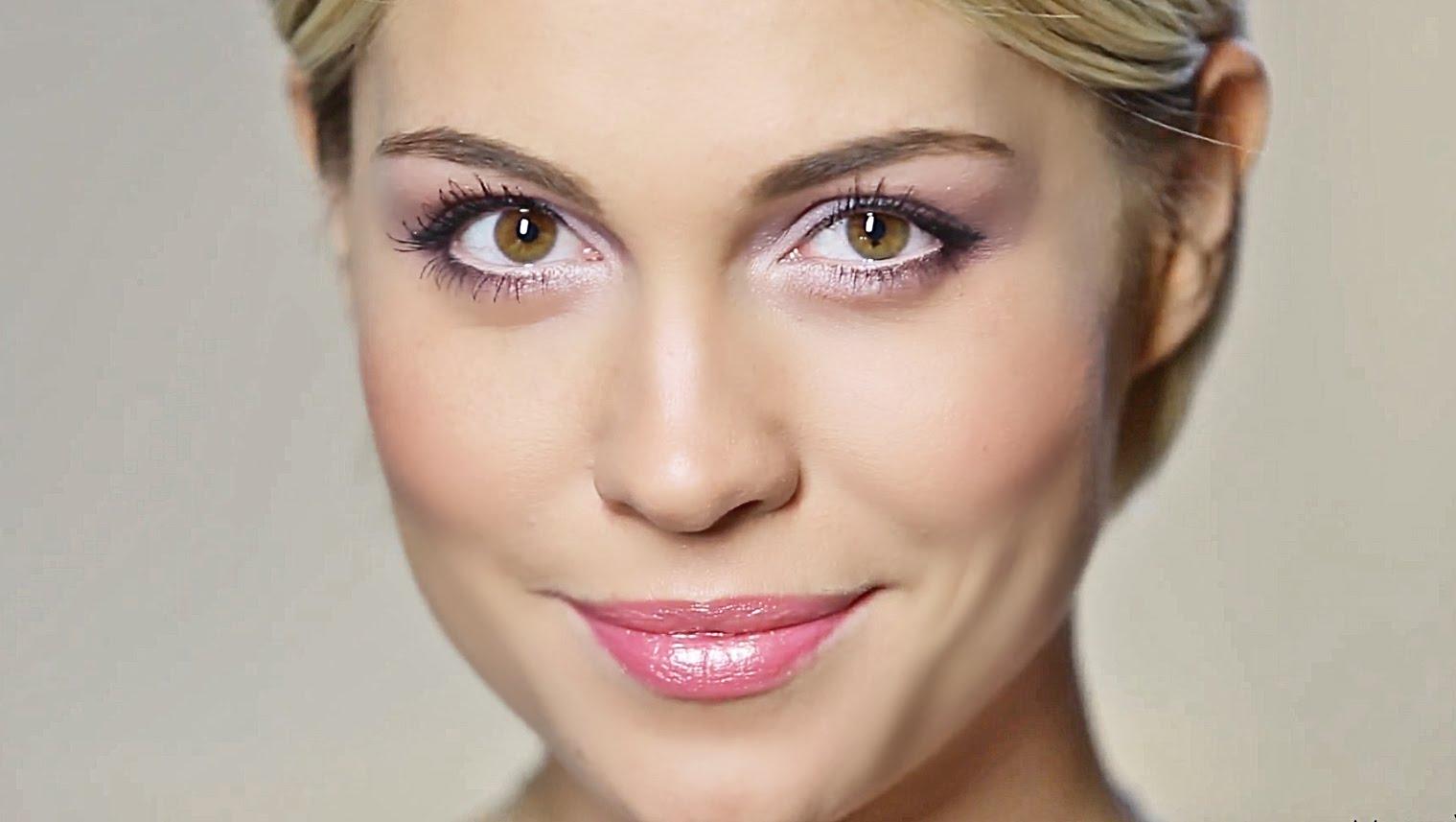 Красивый и неяркий макияж