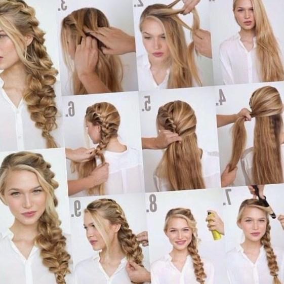 Как делать самой себе причёски
