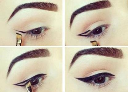 Как правильно и красиво рисовать стрелки на глазах