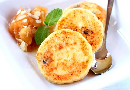 Сырники из творога с манкой в духовке рецепты с фото пошагово