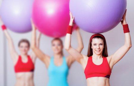 Аеробіка на фітбол допоможе схуднути - доведено
