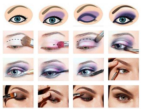Як робити макіяж очей без тіней