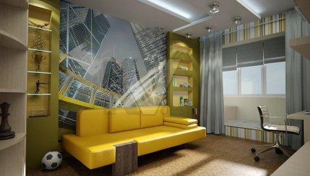 Интерьер комнаты для юноши 20 лет