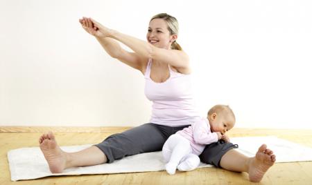 Пилатес после родов: идеальная методика для восстановления фигуры