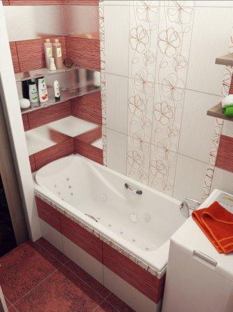 інтер'єр невеликої ванної кімнати
