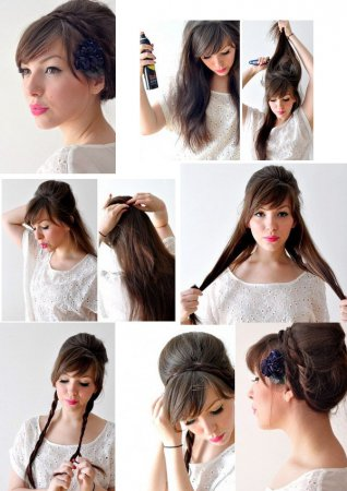 Зачіска покроково