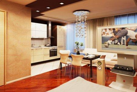Как создать практичный и уютный интерьер квартир-студий