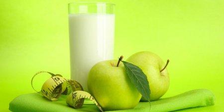 Зайва вага геть: кефірна дієта з яблуками