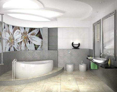 Интерьер ванной комнаты: дизайн по всем правилам!