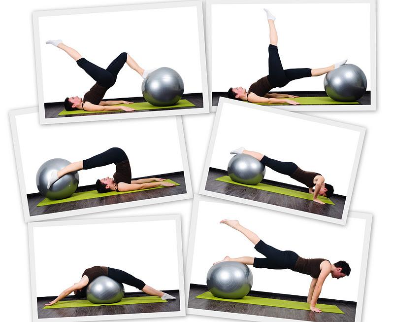 Комплекс упражнений для похудения пилатес