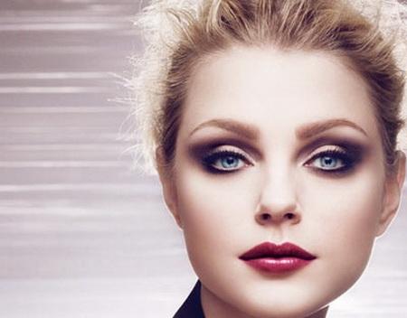 Как наносить макияж на круглое лицо