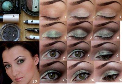 Як робити макіяж очей з навислими століттями