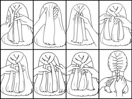 Як зробити зачіску дитині «Дракон»