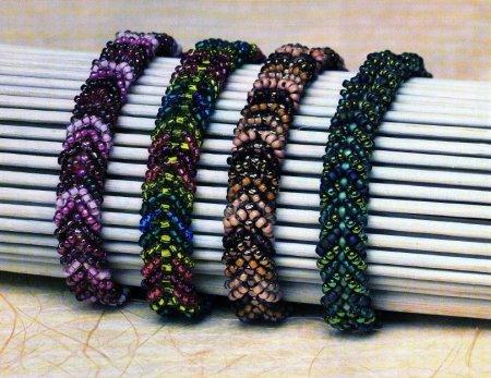 Бисероплетение браслетов: шикарное украшение своими руками