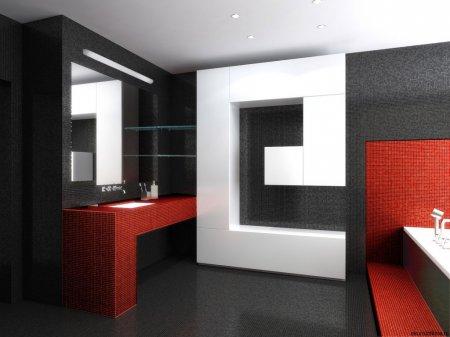 ТОП-5 атрибутів інтер'єру ванної кімнати хай-тек
