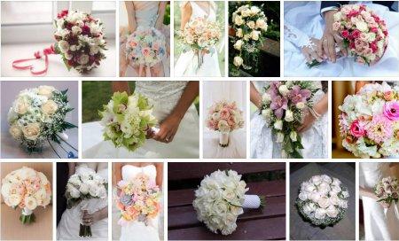 Як створюються оригінальні весільні букети