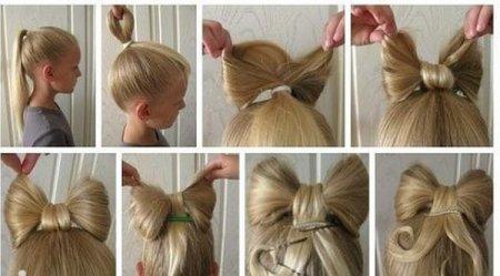Зачіска для дівчаток: стильні коси і джгути