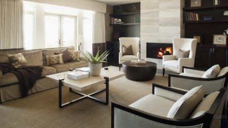 ТОП-5 модных интерьеров гостиной