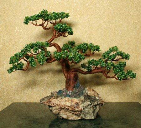 Бісероплетіння: дерева своїми руками