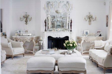 інтер'єр будинку французький стиль