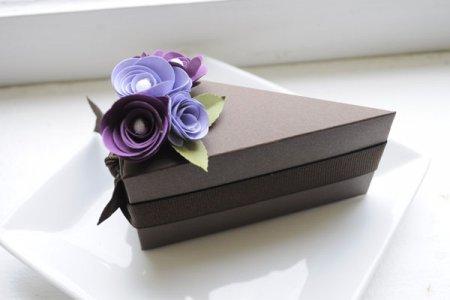 Рукоділля – декор коробки цукерок