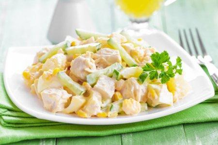 Кулінарія: салати з курки