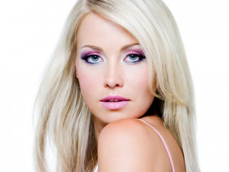 Как сделать яркий макияж для голубых глаз