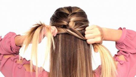 Як заплітати волосся самій собі
