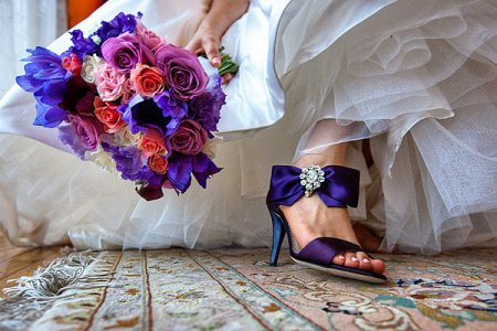 Весільне взуття для нареченої: правила підбору