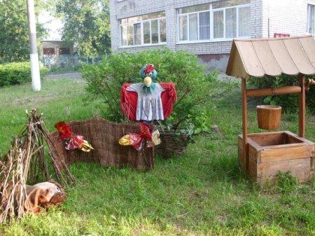 Дитячий сад в літній період