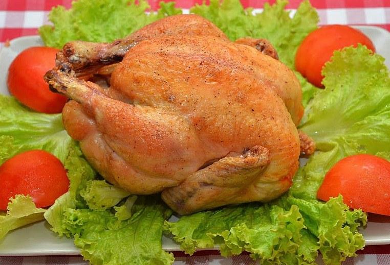 рецепты второго из курицы в духовке