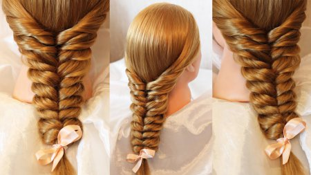 Плетіння з волосся: