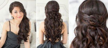 Причёски своими руками для длинных волос