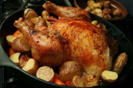 рецепти курки в духовці