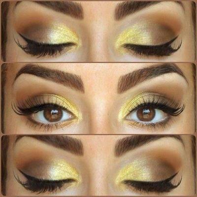 5 правил макіяжу очей жовтими тінями