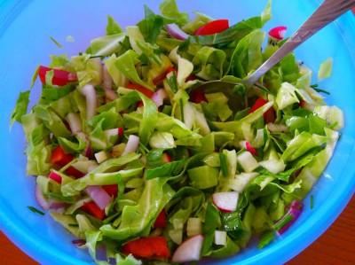 Рецепты холодных салатов