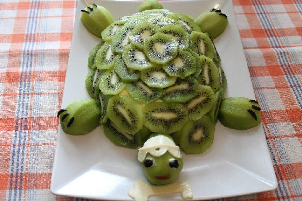 Торт черепаха пошаговый рецепт из киви