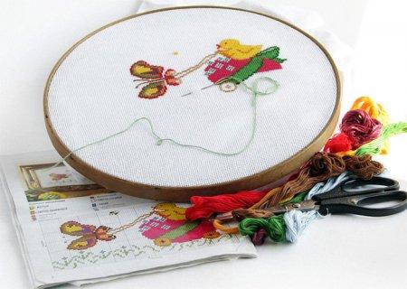 Рукоделие: вышивка крестиком для начинающих