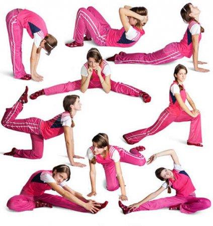 Аэробика: комплекс упражнений для быстрого похудения