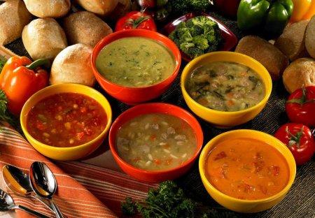 Супи: рецепти приготування