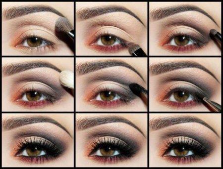 Макіяж очей в коричневих тонах: робимо мейк-ап правильно