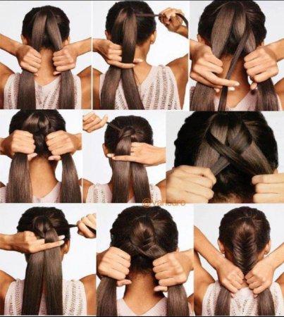 Плетение волос своими руками
