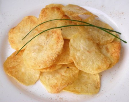 ТОП-3 рецепта чіпсів в домашніх умовах