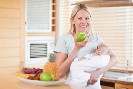 Главные правила меню кормящих мам