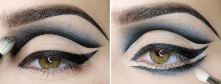 Фахівці розповіли, як зробити макіяж чорними тінями