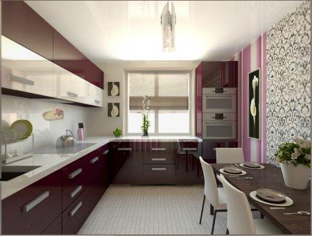 Как справиться с ремонтом маленькой кухни: дизайнерские идеи
